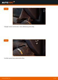 Ako vykonať výmenu: Kabínový filter na 2.2 D 4WD (ALA30_) Toyota RAV4 III