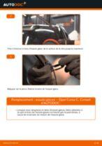 Comment changer : essuie-glaces avant sur Opel Corsa C - Guide de remplacement