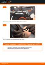 Byta torkarblad fram på Opel Corsa C – utbytesguide