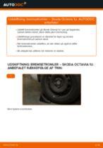 Udskift bremsetromler - Skoda Octavia 1U   Brugeranvisning