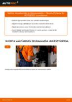 Ilmaiset ohjeet verkossa kuinka vaihtaa Laakerointi Pyöränlaakeripesä SKODA OCTAVIA (1U2)