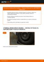Ako vymeniť brzdový bubon na Skoda Octavia 1U – návod na výmenu