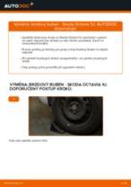 Jak vyměnit brzdový buben na Skoda Octavia 1U – návod k výměně