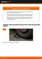 Αντικατάσταση Σετ ρουλεμάν τροχού στην SKODA SCALA - συμβουλές και κόλπα