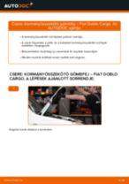 FIAT DOBLO Kormány gömbfej cseréje : ingyenes pdf