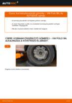 Kormányösszekötő gömbfej-csere VW Polo 9N gépkocsin – Útmutató