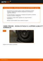 Fékdob-csere Skoda Octavia 1U gépkocsin – Útmutató