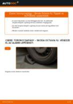 Elülső toronycsapágy-csere Skoda Octavia 1U gépkocsin – Útmutató