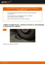 Elülső futómű rugó-csere Skoda Octavia 1U gépkocsin – Útmutató