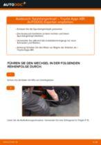 Wie Spurkopf beim TOYOTA AYGO (WNB1_, KGB1_) wechseln - Handbuch online