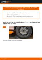 Schritt-für-Schritt-Anweisung zur Reparatur für VW SPACEFOX