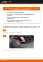 Wanneer Stuurgewricht TOYOTA AYGO (WNB1_, KGB1_) veranderen: pdf tutorial
