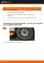 VW Spoorstangkogel veranderen doe het zelf - online handleiding pdf