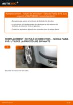 Changer Rotule de barre de connexion SKODA à domicile - manuel pdf en ligne