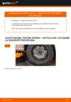 Come cambiare testine sterzo su VW Polo 9N - Guida alla sostituzione