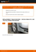 Auto mechanic's recommendations on replacing SKODA Skoda Fabia 6y5 1.9 TDI Control Arm