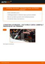 Skifte Baklykter FIAT DOBLO: verkstedhåndbok