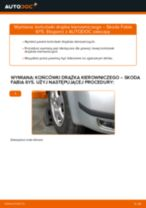 Zalecenia mechanika samochodowego dotyczącego tego, jak wymienić SKODA Skoda Fabia 6y5 1.9 TDI Poduszka Amortyzatora