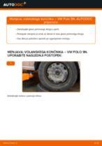 Kako zamenjati avtodel volanski končnik na avtu VW Polo 9N – vodnik menjave