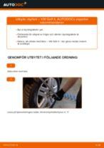 Bilmekanikers rekommendationer om att byta VW Golf 5 1.6 Styrled