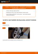 Kuinka vaihtaa raidetangon pää VW Golf 4-autoon – vaihto-ohje