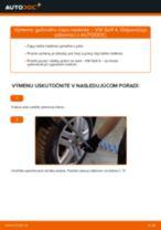 Ako vymeniť guľový čap riadenia na VW Golf 4 – návod na výmenu