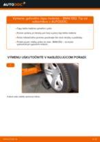 Ako vymeniť a regulovať Riadiaca tyč BMW 3 SERIES: sprievodca pdf