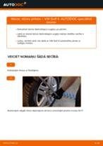 Kā nomainīt: stūres pirksta VW Golf 4 - nomaiņas ceļvedis