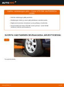 Kuinka vaihtaa Raidetangon Pää 2.4 Volvo V70 SW -autoon