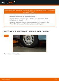 Como realizar a substituição do Ponteiras de Direcção no FIAT ? Dê uma olhada no nosso guia detalhado e saiba como fazê-lo