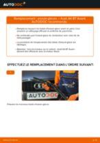 Comment changer : essuie-glaces avant sur Audi A4 B7 Avant - Guide de remplacement