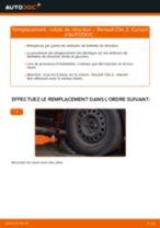 Comment changer : rotule de direction sur Renault Clio 2 - Guide de remplacement