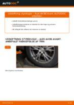Udskift styrekugle - Audi A4 B6 Avant   Brugeranvisning