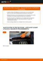 Cómo cambiar: filtro de polen - Audi A4 B7 Avant | Guía de sustitución