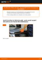 Cómo cambiar: filtros de aire - Audi A4 B7 Avant | Guía de sustitución