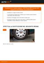 Cambiare Kit Revisione Pinze Freno VW PASSAT: manuale tecnico d'officina