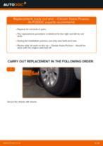 DIY DAEWOO change Sway bar bushes - online manual pdf