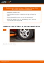 Replacing Anti roll bar stabiliser kit on TOYOTA PROACE - tips and tricks
