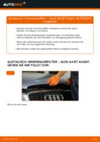 Anleitung: Audi A4 B7 Avant Innenraumfilter wechseln