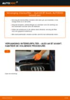Hoe interieurfilter vervangen bij een Audi A4 B7 Avant – vervangingshandleiding