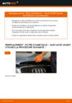 Comment changer Moyeux de roue arrière et avant Renault Twingo 3 - manuel en ligne