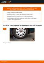Kuinka vaihtaa raidetangon pää VW Passat B5 Variant-autoon – vaihto-ohje