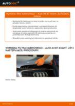 Jak wymienić filtr kabinowy w Audi A4 B7 Avant - poradnik naprawy