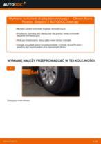 Kiedy wymienić Końcówka drążka kierowniczego poprzecznego CITROËN XSARA PICASSO (N68): pdf poradnik