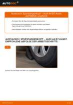 AUDI Lenkstangenkopf selber austauschen - Online-Bedienungsanleitung PDF