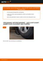 Hoe spoorstangeind vervangen bij een Audi A4 B7 Avant – vervangingshandleiding