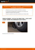 Comment changer : rotule de direction sur Audi A4 B7 Avant - Guide de remplacement