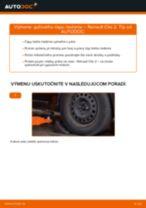 Vymeniť Čap riadenia RENAULT CLIO: zadarmo pdf