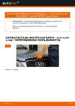 Πώς να αλλάξετε φιλτρο καυσιμου σε Audi A4 B7 Avant - Οδηγίες αντικατάστασης