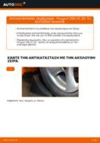 Οι συστάσεις του μηχανικού αυτοκινήτου για την αντικατάσταση PEUGEOT Peugeot 307 SW 1.6 16V Φίλτρο λαδιού